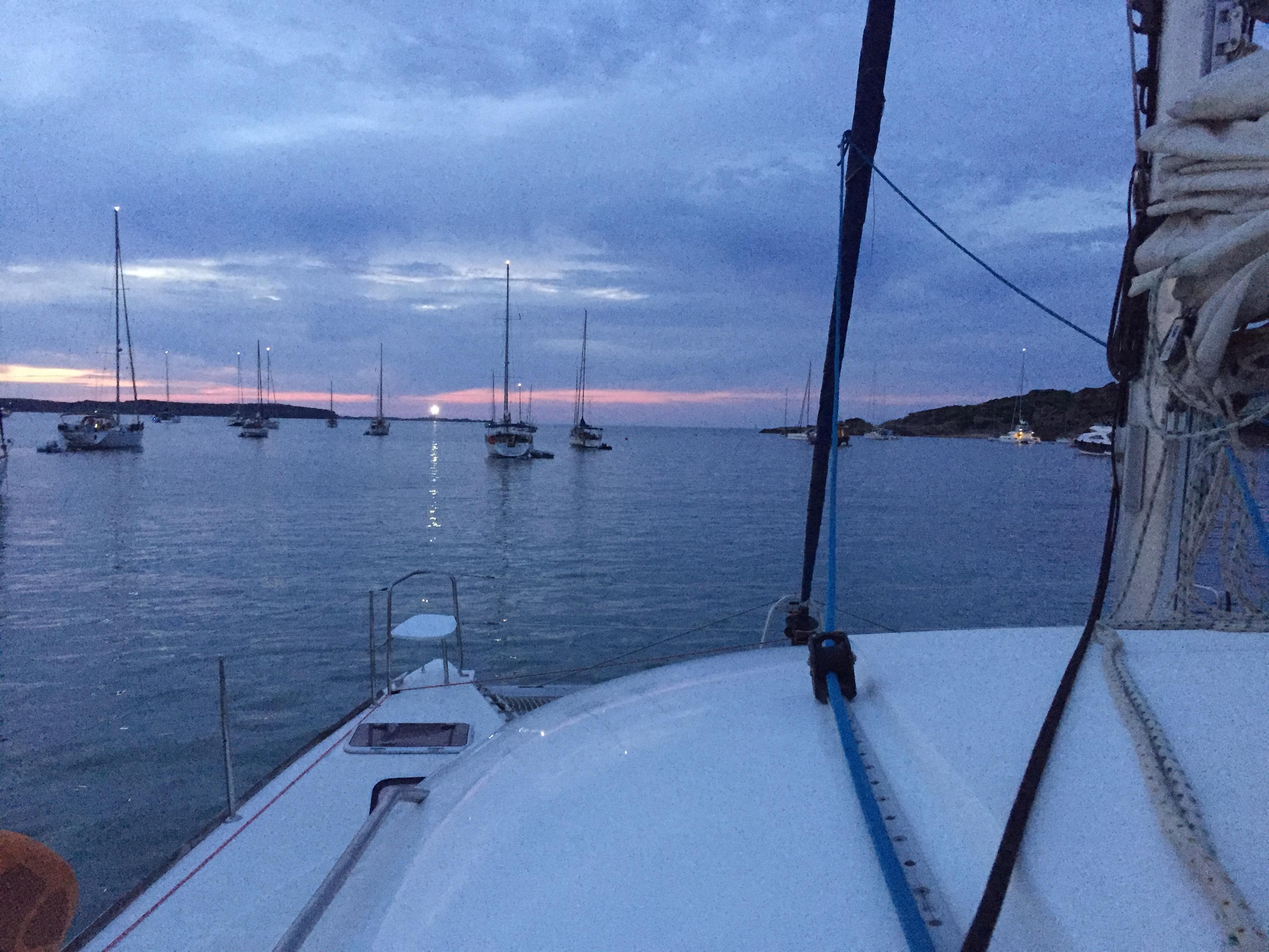 Navegar catamaran Menorca