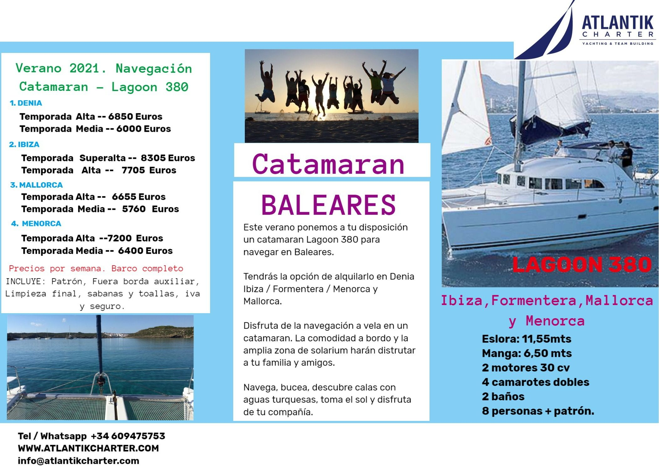 Menorca CATAMARAN