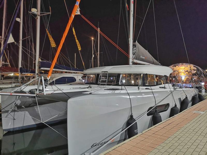 Catamaran Navegacion de confort